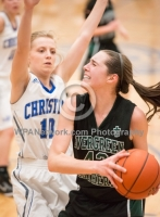 Gallery: Girls Basketball Evergreen Lutheran @ Mount Vernon Christian